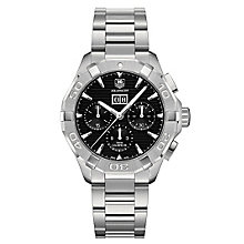 TAG Heuer Aquaracer 43 men's stainless steel bracelet watch - Product number 2840111