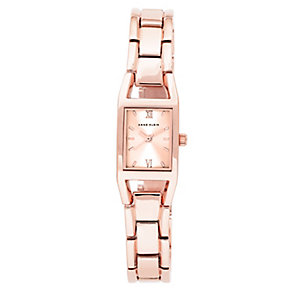 Anne Klein Ladies' Square Dial Rose Gold Plated Watch - Product number 2840324