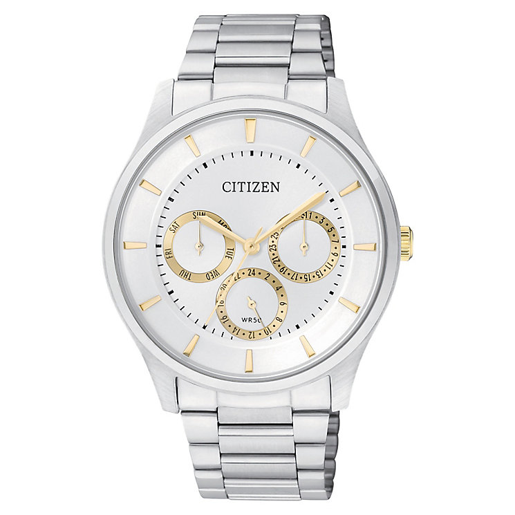 Citizen Men's Two-Tone Multi Function Bracelet Watch - Product number 2840413