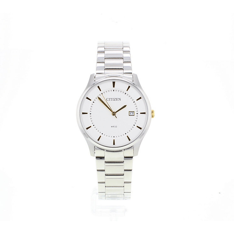 Citizen Men's White Dial Two-Tone Dress Watch - Product number 2840448