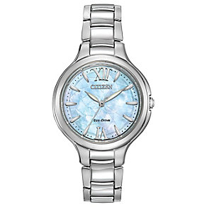 Ladies' Citizen Eco Drive Steel & Mother Of Pearl Watch - Product number 2840545