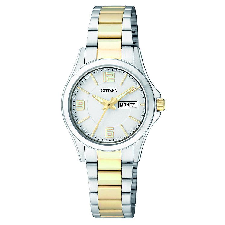 Citizen Ladies' Quartz Two-Tone Dress Watch - Product number 2840588