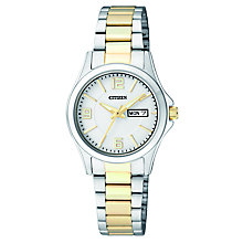 Citizen Ladies' Quartz Two-Tone Dress Watch - Product number 2840588
