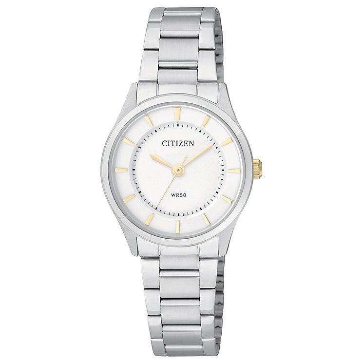 Citizen Ladies' Quartz Two-Tone Dress Watch - Product number 2840596