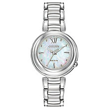 Citizen Ladies' Mother of Pearl Eco-Drive Sunrise Watch - Product number 2840677