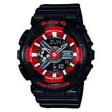 Casio Baby-G Ladies' Red & Black Digital Watch - Product number 2841029