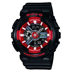Casio Baby-G Ladies' Red & Black Digital Watch - Product number 2841029