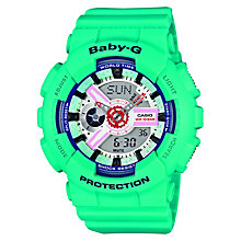 Casio Baby-G Ladies' Blue Digital Watch - Product number 2841037