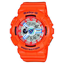 Casio Baby-G Ladies' Peach Digital Watch - Product number 2841045
