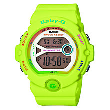 Casio Baby-G Ladies' Green Alarm Chronograph Watch - Product number 2841053