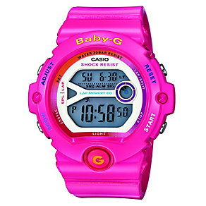 Casio Baby-G Ladies' Pink Alarm Chronograph Watch - Product number 2841061