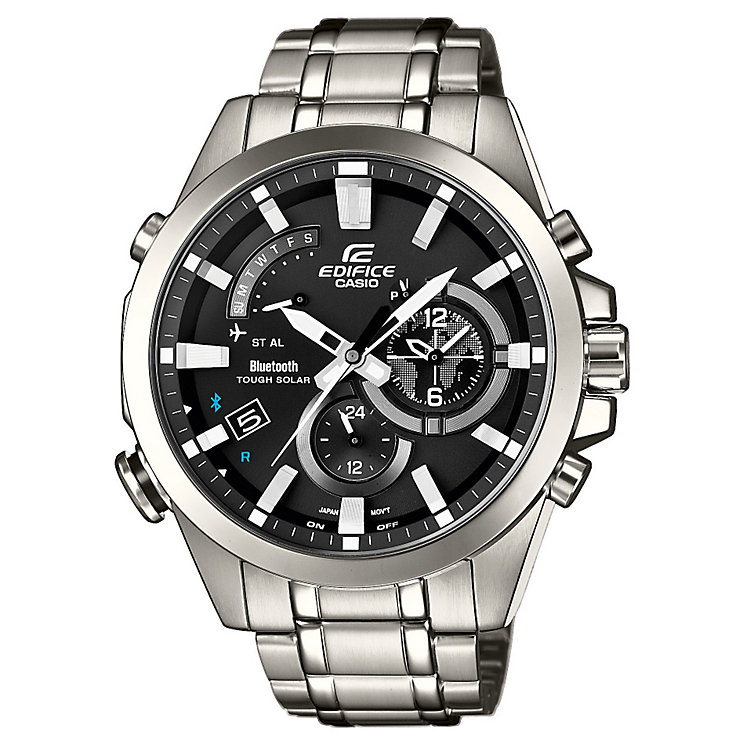 Casio Edifice Men's Stainless Steel Bluetooth Watch - Product number 2841126