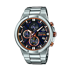 Casio Edifice Men's Red Bull Infiniti Stainless Steel Watch - Product number 2841134