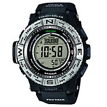 Casio ProTrek Men's Black Digital Watch - Product number 2841150