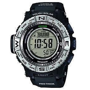 Casio ProTrek Men's Black Digital Watch - Product number 2841150