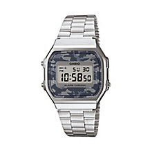 Casio Men's Stainless Steel Camouflage Digital Watch - Product number 2841177