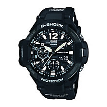G-Shock Men's Black Resin Aviator Watch - Product number 2841215
