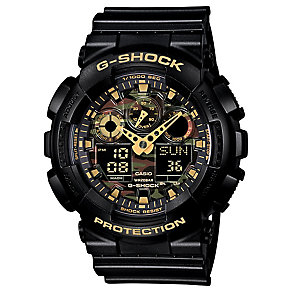 Casio G-Shock Camo Black Resin Strap Watch - Product number 2841266