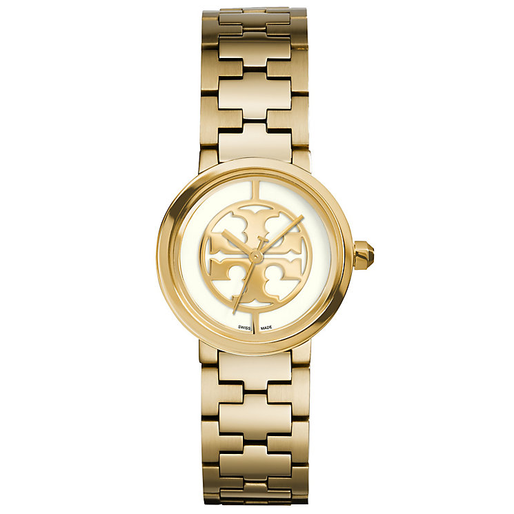 Tory Burch Reva Ladies' Gold Tone Bracelet Watch - Product number 2841711