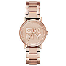 Dkny Soho Ladies' Rose Gold Tone Bracelet Watch - Product number 2841754