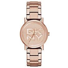 Dkny Soho Ladies' Rose Gold Tone Bracelet Watch - Product number 2841754