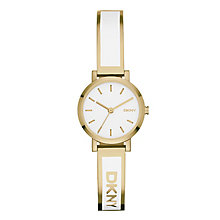 Dkny Soho Ladies' Gold Tone Bracelet Watch - Product number 2841967