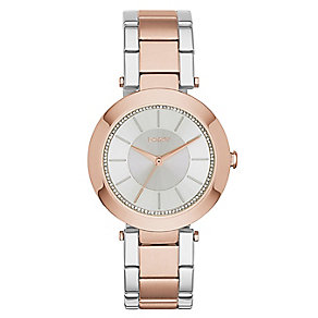 Dkny Stanhope Ladies' Two Colour Bracelet Watch - Product number 2845962
