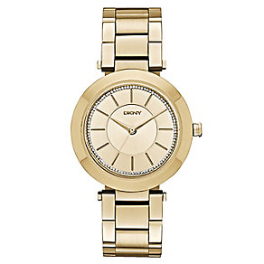 DKNY Stanhope ladies' gold-plated bracelet watch - Product number 2845970