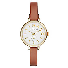 Marc Jacobs Sally Ladies' Gold Tone Leather Strap Watch - Product number 2845997