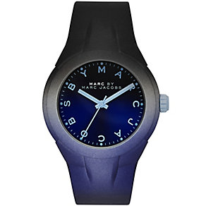 Marc Jacobs ladies' X-Up blue rubber strap watch - Product number 2846071
