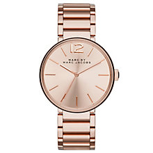 Marc Jacobs Peggy Ladies' Rose Gold Tone Bracelet Watch - Product number 2846136