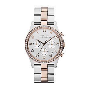 Marc Jacobs Henry ladies' two colour bracelet watch - Product number 2846152