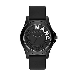 Marc Jacobs Sloane ladies' black ion-plated strap watch - Product number 2846187