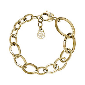 DKNY Must Gold Tone Charm Bracelet - Product number 2846551