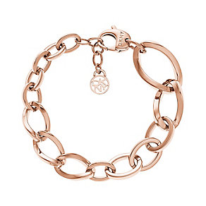 DKNY Must Rose Gold Tone Charm Bracelet - Product number 2846578