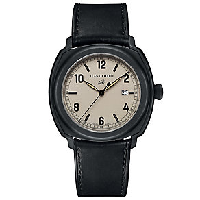 Jean Richard men's 1681 black strap watch - Product number 2846853
