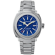 JEANRICHARD men's terrascope stainless steel bracelet watch - Product number 2847736
