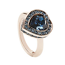 Guess Rose Gold Plated Coins of Love Ring Small - Product number 2852934