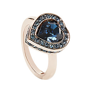 Guess Rose Gold Plated Coins of Love Ring Large - Product number 2852942