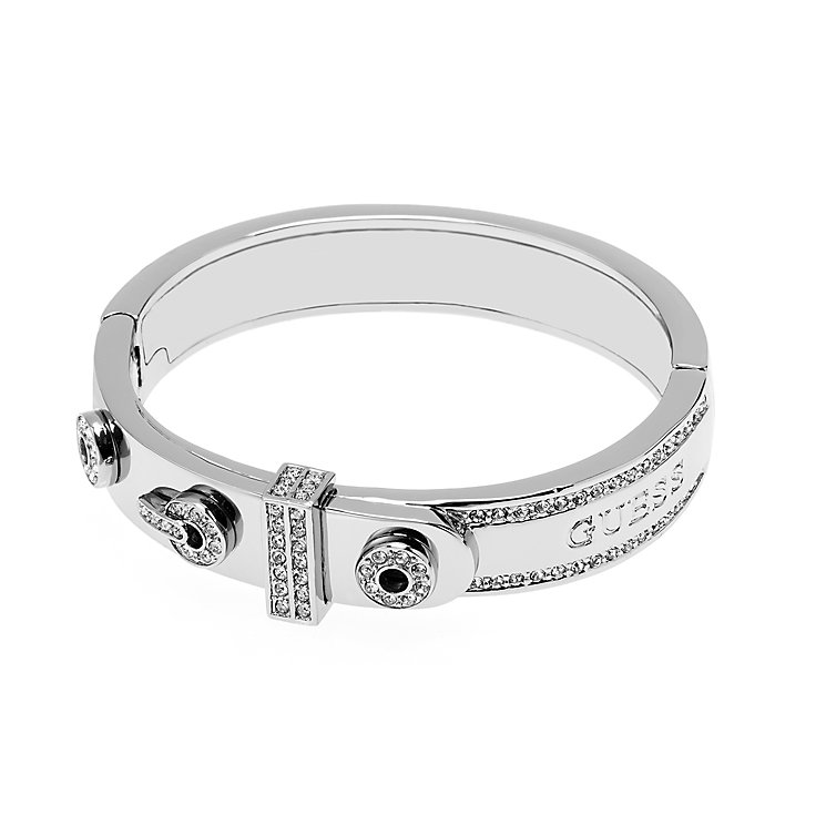 Guess Rhodium Plated Absolute Crystal Set Ring - Product number 2853108