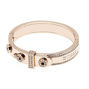 Guess Rose Gold Plated Absolute Crystal Set Ring - Product number 2853124