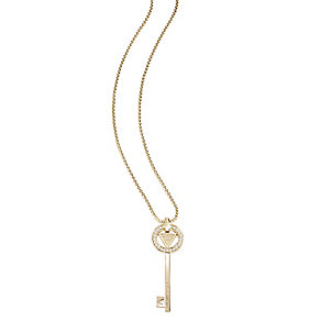 Guess Yellow Gold Plated The Secret Key Pendant - Product number 2853167
