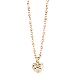 Guess Wrapped With Love Yellow Gold Plated Heart Pendant - Product number 2853280