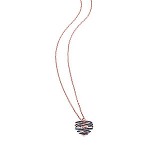 Guess Wrapped With Love Rose Gold Plated Heart Pendant - Product number 2853337