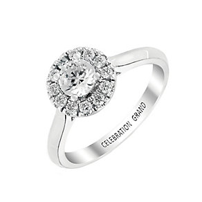 Celebration Grand 18ct White Gold 2/3 Carat Diamond Ring - Product number 2854902