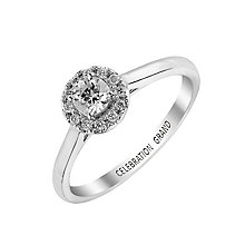 Celebration Grand 18ct White Gold 1/3 Carat Diamond Ring - Product number 2855577
