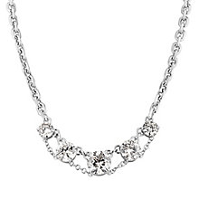 Dyrberg Kern Devonalia Silver Tone Crystal Necklace - Product number 2862751