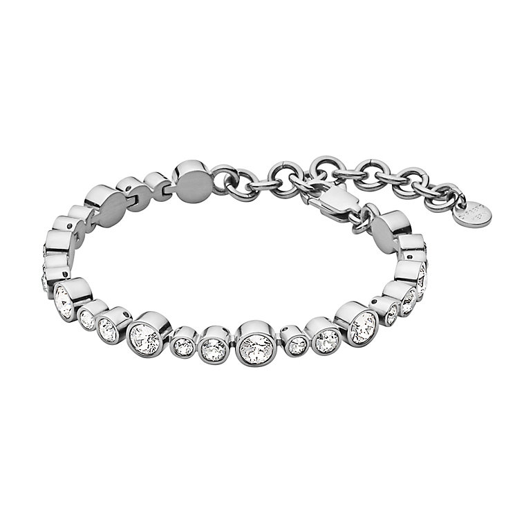 Dyrberg Kern Teresia Clear Crystal Tennis Bracelet - Product number 2862840