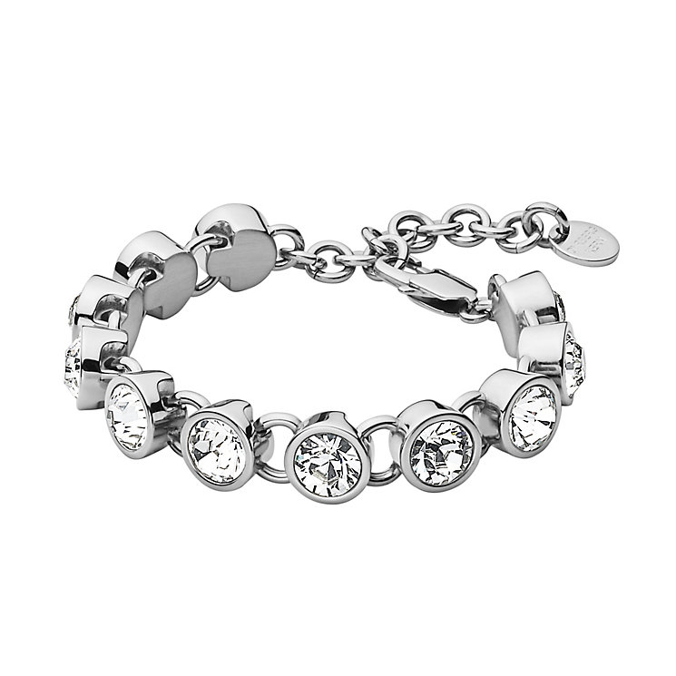 Dyrberg Kern Ciara Silver Tone Crystal Tennis Bracelet - Product number 2862883