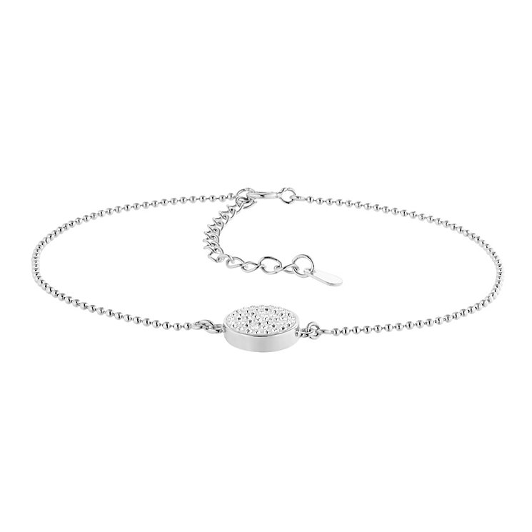 Evoke Silver & Rhodium Plate Swarovski Elements Bracelet - Product number 2864266